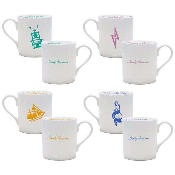 LOVELY CREATURES MUG SET