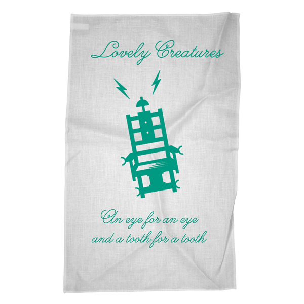 THE MERCY SEAT TEA TOWEL