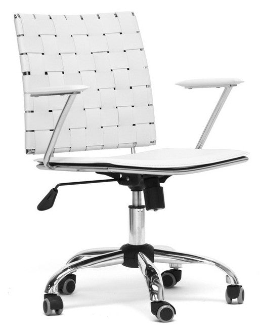 Vittoria Leather Modern Office Chair