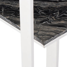 Load image into Gallery viewer, Tierra Console Table Black Marble