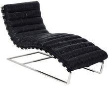 Load image into Gallery viewer, Oviedo Leather Chaise Lounge