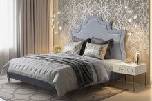 Load image into Gallery viewer, Serenity Velvet Bed in Queen