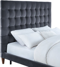 Load image into Gallery viewer, Eden Velvet Bed in King Size