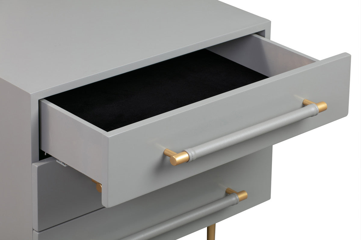 Trident Grey Nightstand