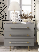 Load image into Gallery viewer, Trident Grey Nightstand