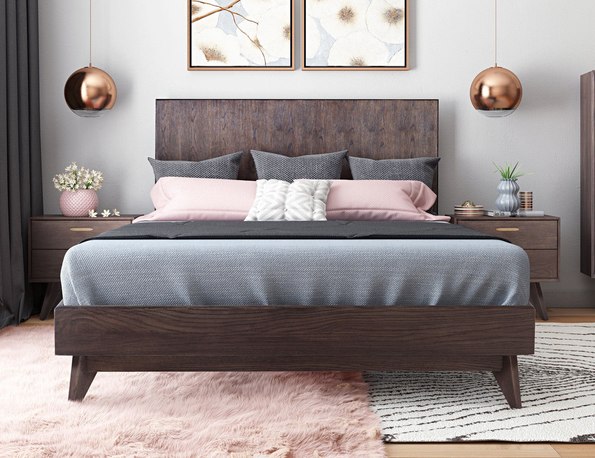 Loft Wooden Queen Bed