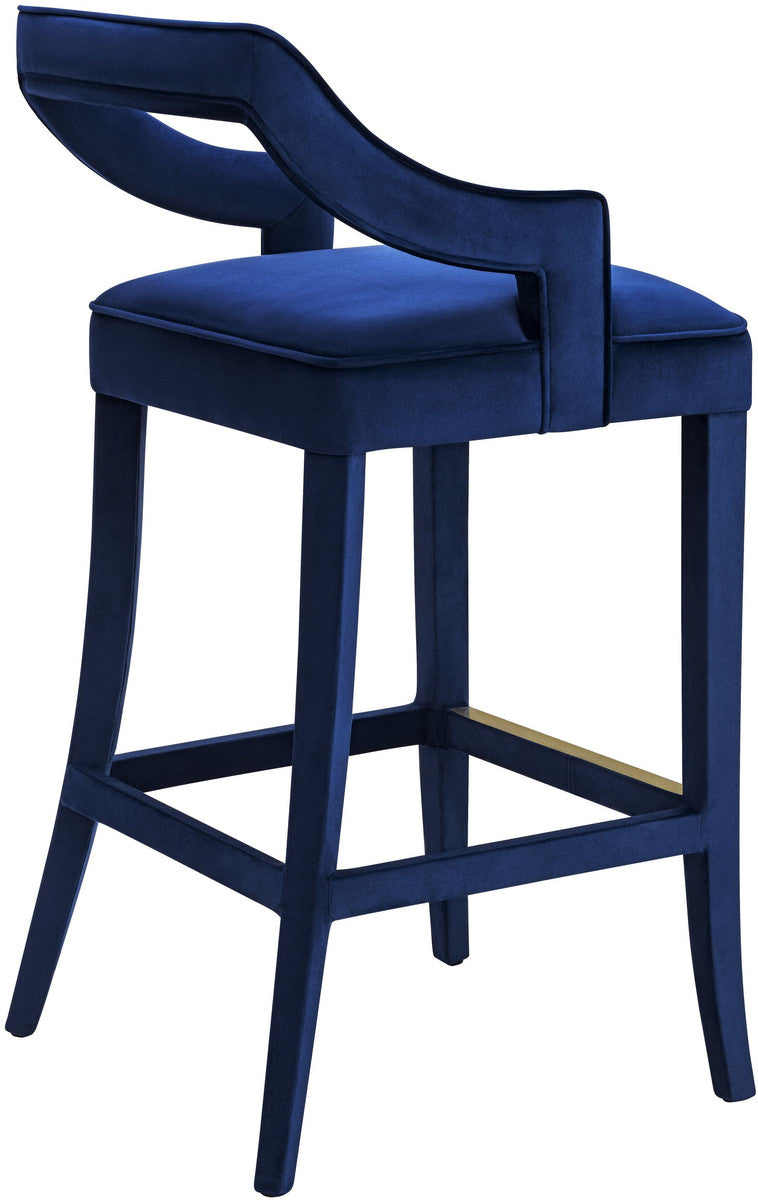 Tiffany Velvet Bar Stool