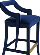 Load image into Gallery viewer, Tiffany Velvet Bar Stool