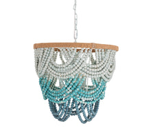 Load image into Gallery viewer, Jade Beaded Chandelier