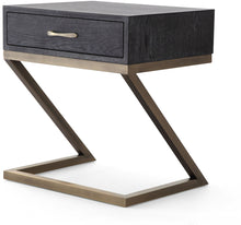 Load image into Gallery viewer, Mason Black Side Table