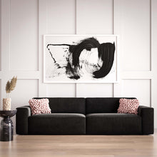 Load image into Gallery viewer, Olafur Black Velvet Sofa
