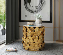 Load image into Gallery viewer, Brie Marble Side Table