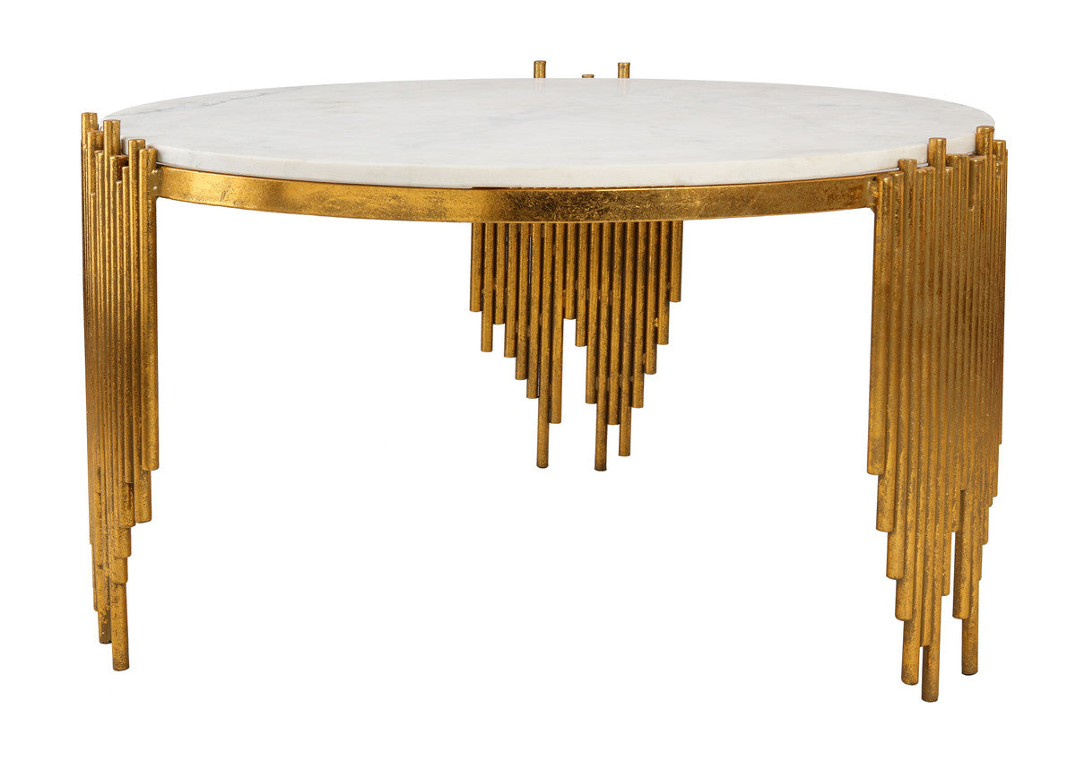 Waterfall Marble Cocktail Table
