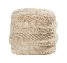 Load image into Gallery viewer, Yorba Cotton Pouf