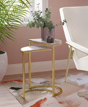 Load image into Gallery viewer, Crete White Terrazzo Nesting Tables