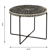 Load image into Gallery viewer, Regina Bone Inlay Cocktail Table