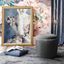 Load image into Gallery viewer, Ives Velvet Ottoman
