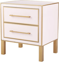 Load image into Gallery viewer, Emily Pink Lacquer Side Table