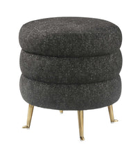 Load image into Gallery viewer, Ladder Velvet Ottoman