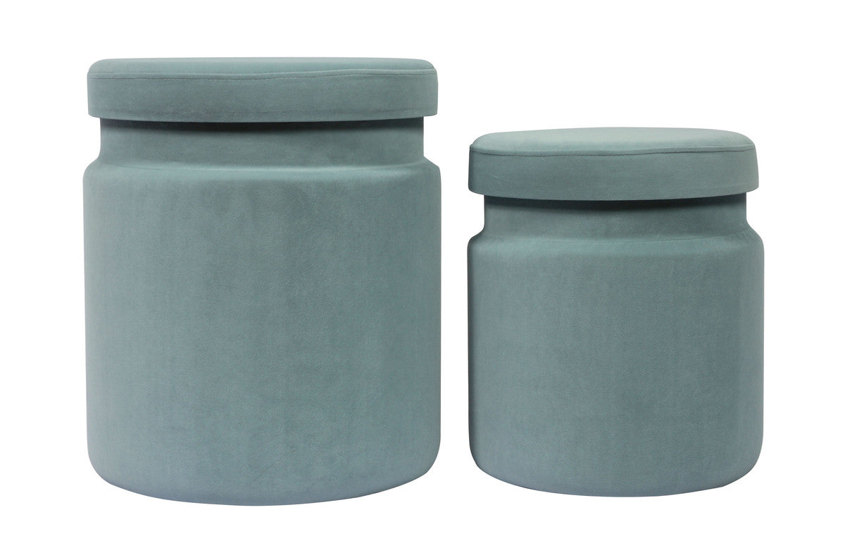 Kris Storage Ottomans - Set of 2