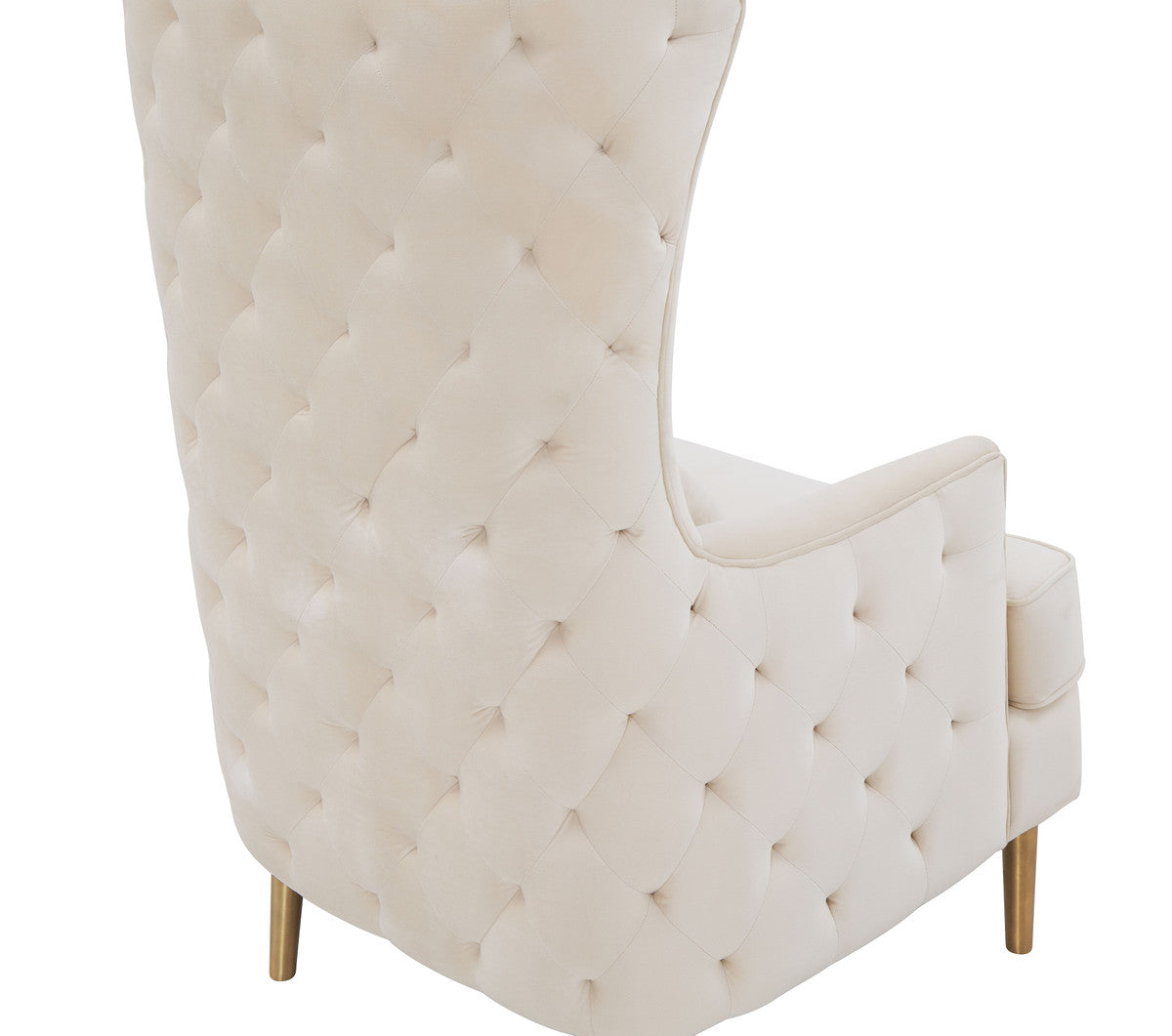 Alina Tall Tufted Back Chair By Inspire Me! Home Decor