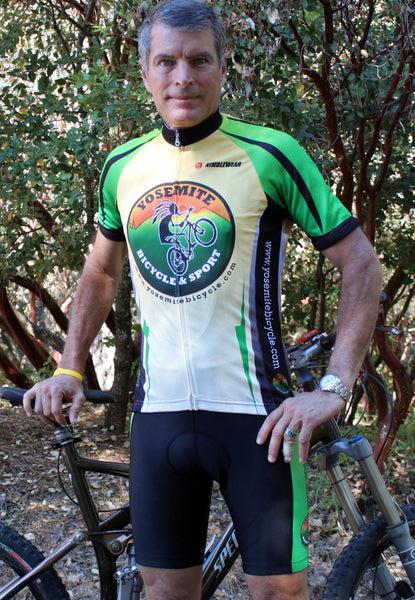 Yosemite Bicycle mens Jersey, made in USA