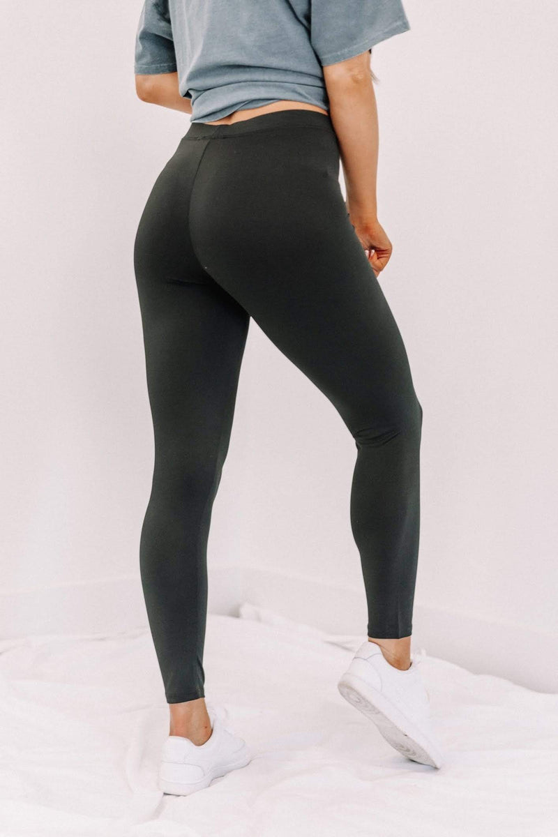 Black Keep It Basic Leggings Lane 201