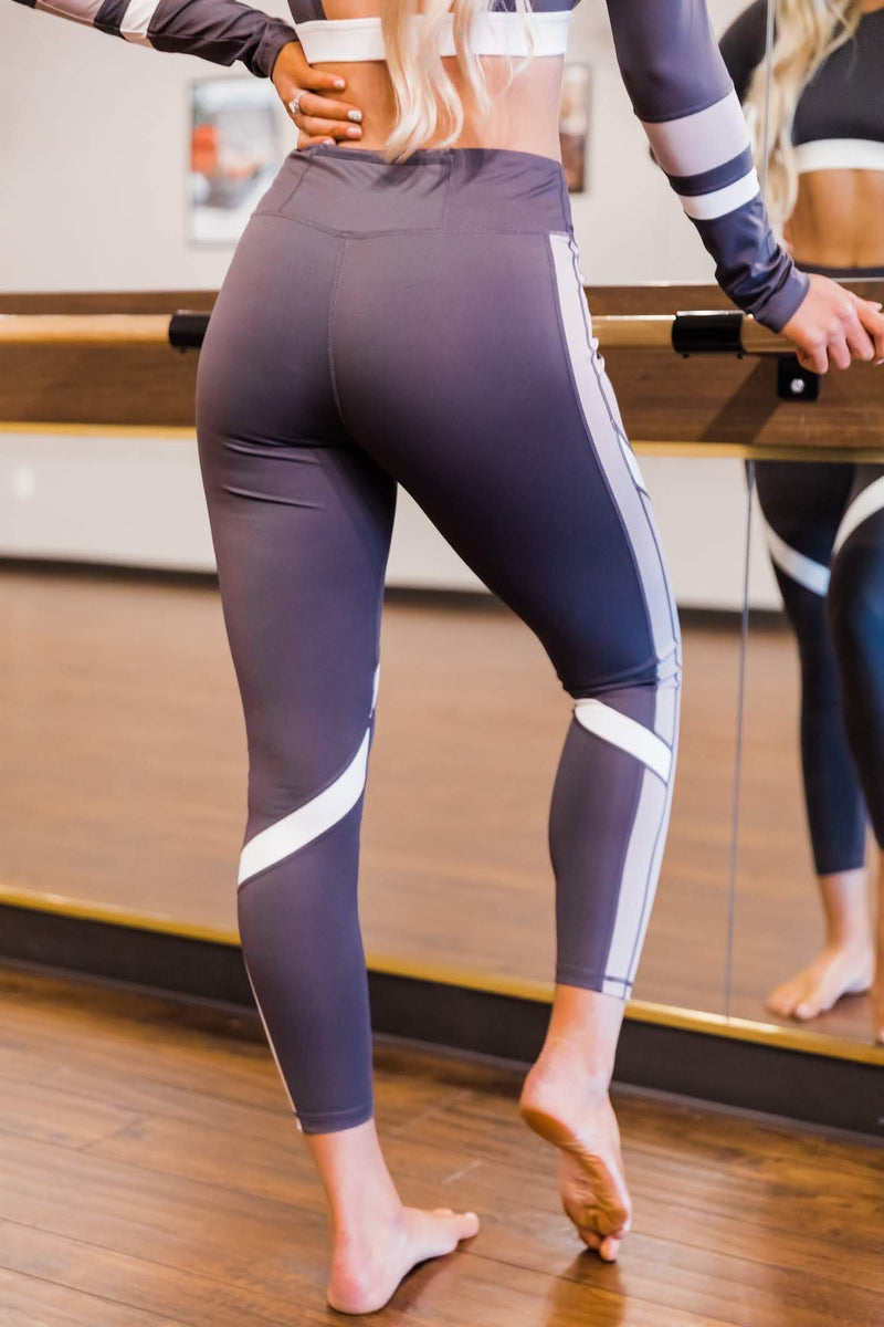 Dark Grey Go Getter Leggings Lane 201