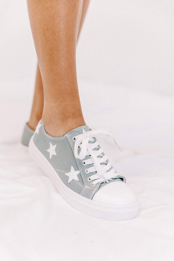 Grey Shay Sneakers Lane 201