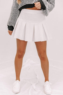 Ivory Tennis Skirt Lane 201