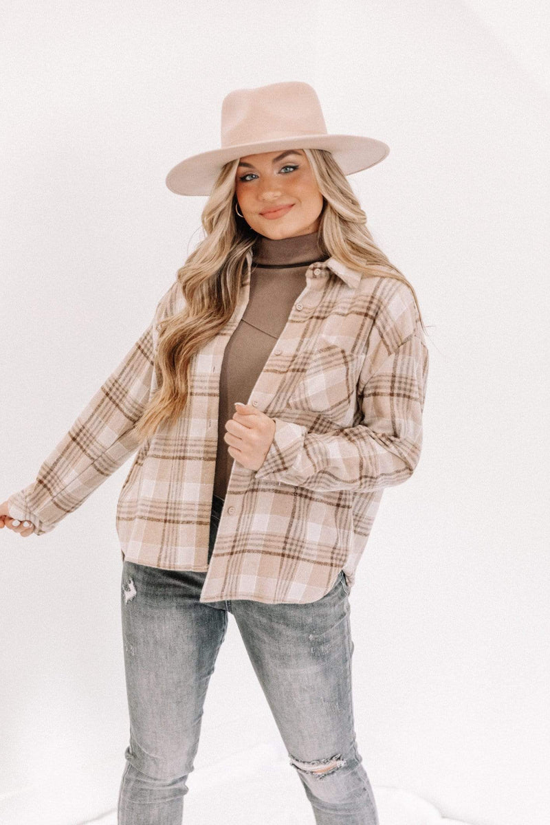 Khaki Noah Plaid Top Lane 201