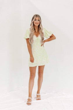 Lime Sip Sip Hooray Dress Lane 201