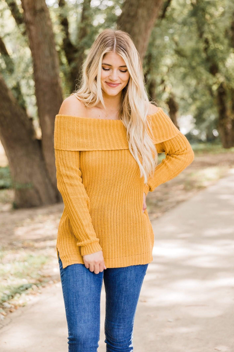 Mustard Jordan Sweater Lane 201