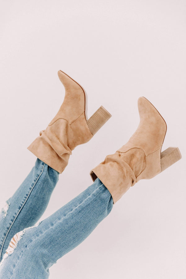 Toffee Slouchy Bootie Lane 201