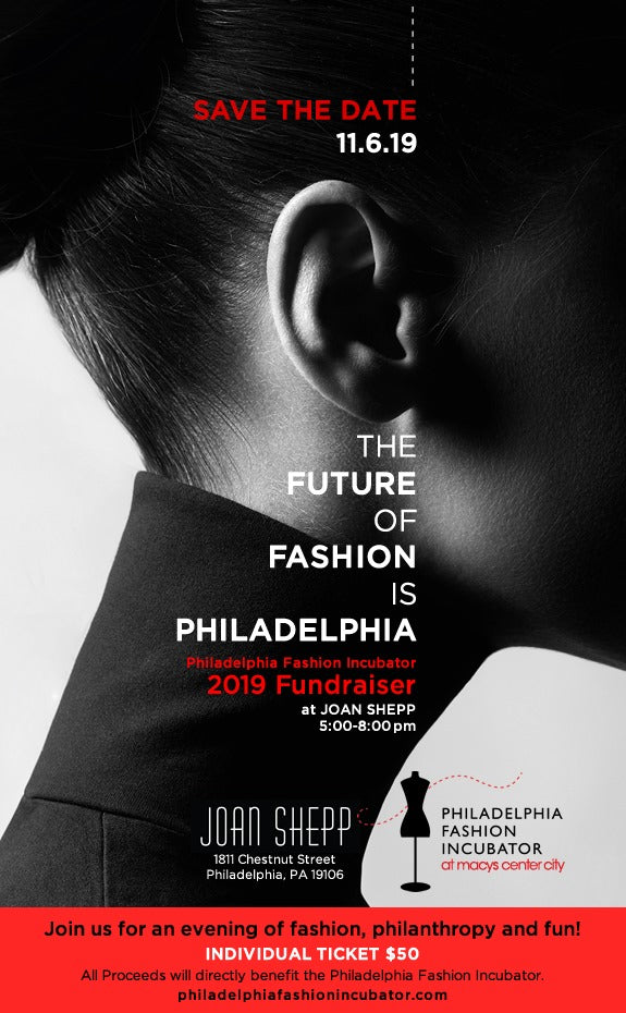 The Philadelphia Fashion Incubator 2019 Fundraiser at Joan Shepp