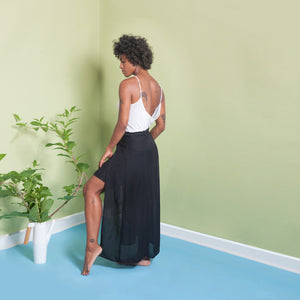wrap skirt sustainable fashion