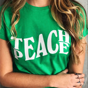 TEACHE PEACE GREEN