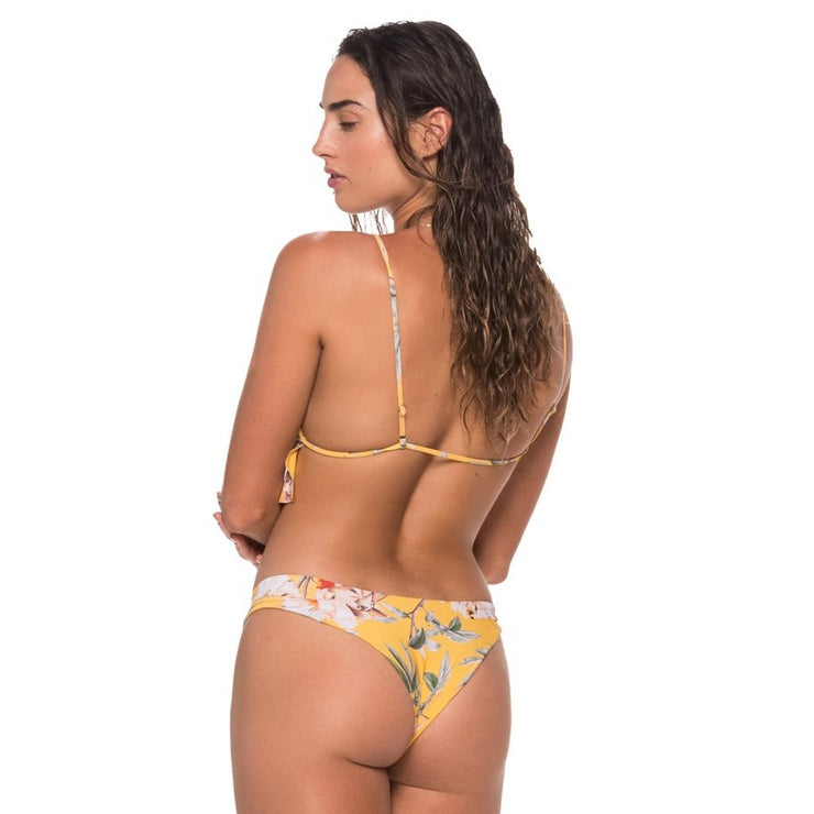 Flower Flush Bahia Triangle Top / Sandy Bottom