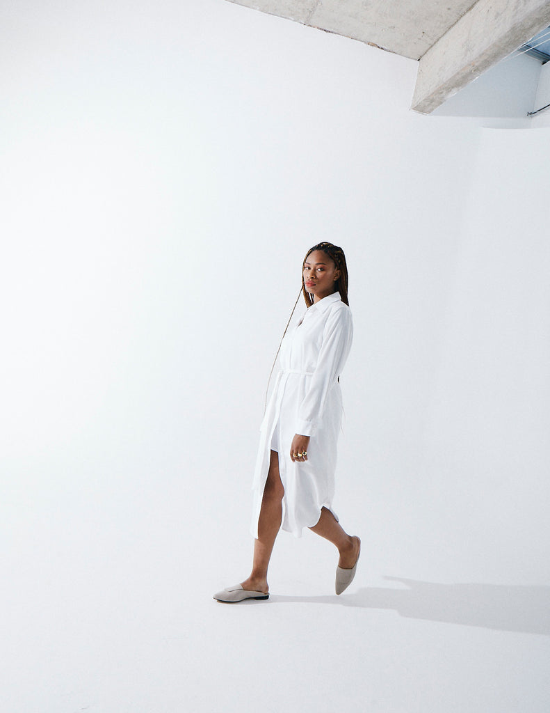 The Tencel Shirt Dress