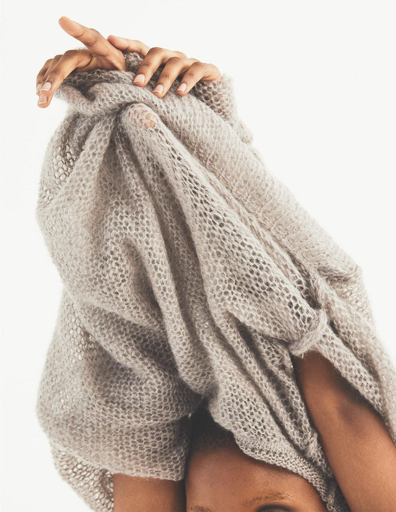 Mohair Box Sweater