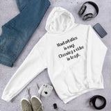 Masturbation is easy funny sexual humor Unisex Hoodie