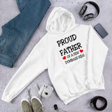 Proud father of a few dumbass kids funny parenting humor Unisex Hoodie