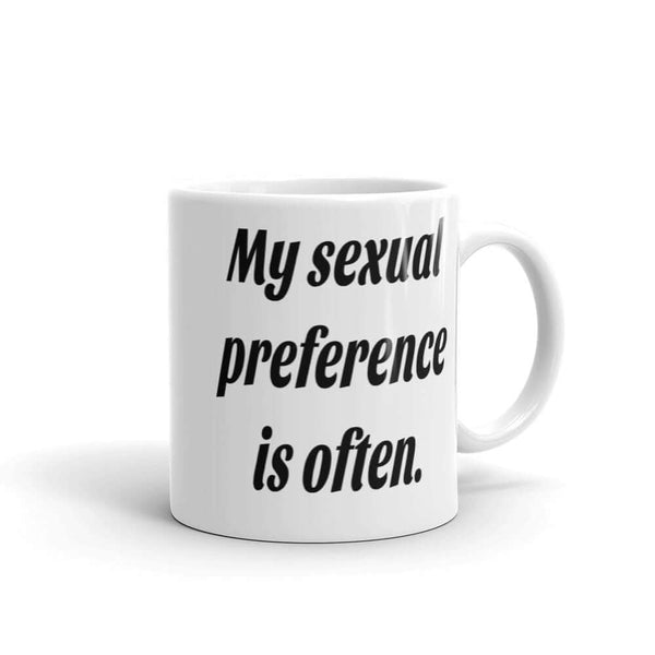 Funny sexual preference coffee mug