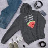 You can swallow my seed funny sexual humor watermelon joke Unisex Hoodie