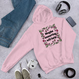 Maybe swearing will help funny Unisex Hoodie