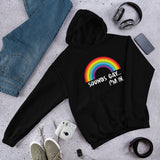 Funny LGBTQ rainbow pride Unisex Hoodie. Sounds gay, I'm in.