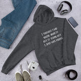 Thought I had social anxiety but it turns out I just hate people sarcastic unisex hoodie