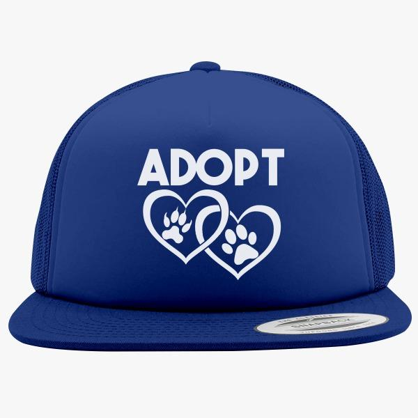 Foam Trucker Hats for Animal Lovers: Adopt