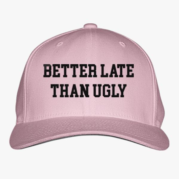 Funny Custom Baseball Hats: Better Late Than Ugly