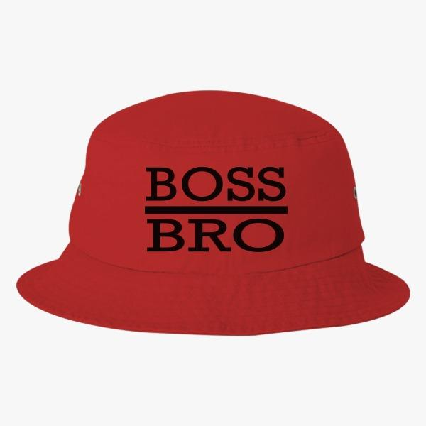 Tourist bucket hats: Boss Bro